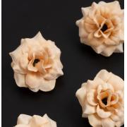 """Бутон цветов """"Розочка"""" 4.5 см персиковый 1 шт."""