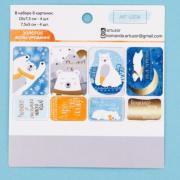 Карточки для скрапбукинга «Мои зимние сны», 10 × 10,5 см