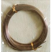 Проволока для плетения 1,5 мм коричневый №1  SF-905, 5 метров