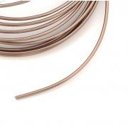 Проволока для плетения 2 мм коричневый SF-906, 3 метра