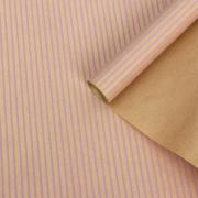 """Бумага крафт """"Полосы вертикальные сиреневые"""", 0,6 х 10 м (1 метр)"""