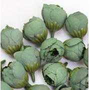 """Бутон цветов """"Пион"""" 2,5 см морской зеленый, 2 шт"""