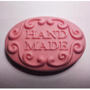 """Форма для мыла """"Hand Made 2D"""" силиконовая 70 г"""