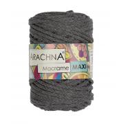 """Пряжа ARACHNA """"Macrame Maxi"""" 17 серый (250г)"""