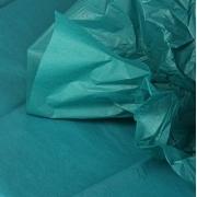 Тишью бумага 50х66см Зеленый натуральный (2 листа)