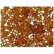 Бисер TOHO HEXAG0N 15/0 5 грамм 0022C темно-золотистый