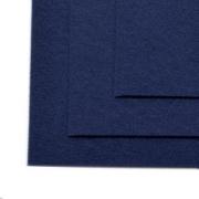 Фетр Китай жесткий 30х21 см 2мм темно-синий №041 (1 лист)
