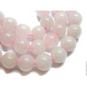 Бусины розовый кварц 8мм (8шт.)