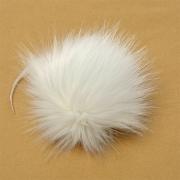 Помпон иск.мех 15см PIP06 белый