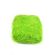 Сизаль (сизалевое волокно) 100гр, солнечный лайм