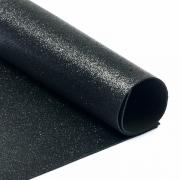 Фоамиран глиттерный 2мм 20х30см черный
