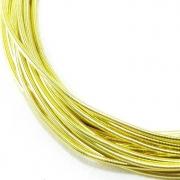 Канитель мягкая 1мм Line yellow (5грамм) 0071