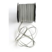 Шнур бархатный 2,5х1 мм (2 метра) серый