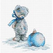 "Набор для вышивания ""Новогодний шар"" М-101 15х15см"