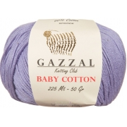 Пряжа Baby Cotton Gazzal 3420 (Турция)