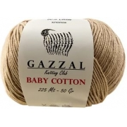 Пряжа Baby Cotton Gazzal 3424 (Турция)