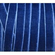 Лента бархатная VR-06 6 мм синий 038 (2м)