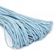 Шнур эластичный 2мм EC-20 голубой (3 метра)