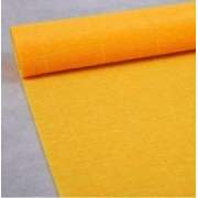 Гофрированная бумага №576 0.5х1м светло-оранжевый