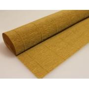 Гофрированная бумага №567 0.5х2.5м Светло-коричневая (Италия)
