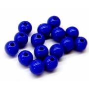 Бусины акрил BSA-08 8 мм 04 синий (50 шт.)