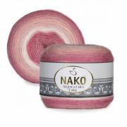 Пряжа Nako Angora luks color (150г.) 82365