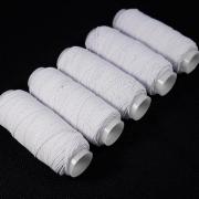 Резинка/нить эластичная спандекс 25м (белый)