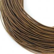 Канитель жесткая 1мм Antique brown 0045 (1метр)