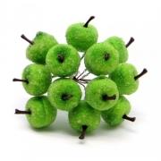 Искусственные фрукты: яблоко в сахаре, DKB106, 2 шт.