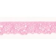 Кружево HVK-02 12мм №005 Розовый