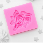 """Молд силиконовый 5,5×5 см """"Букет роз"""""""