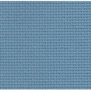 Канва K04 Aida№14 100% хлопок 30х40см голубой