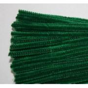 Проволока  синельная 30 см темно-темно-зеленый, 50 шт