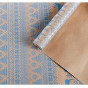 Бумага упаковочная крафт «Скандинавская», 0.68 × 1 м