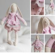 Мягкая игрушка «Домашняя зайка Моника», набор для шитья, 18 × 22.5 × 2см