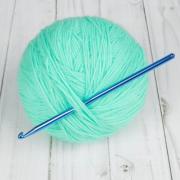 Крючок для вязания металл 15 см 5.0