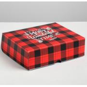 Упаковка для кондитерских изделий The most wonderful time, 20 × 17 × 6 см