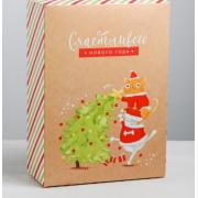 Коробка складная «Новогодние шалости», 22 × 30 × 10 см