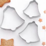 """Набор форм для вырезания печенья 6х6 см """"Колокольчик"""", 3 шт"""