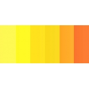 "Полоски для квиллинга ""Желто-оранжевый микс"" C 06-05-150 (5 мм 150 шт.)"