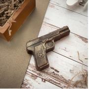 """Мыло сувенирное ручной работы """"Пистолет"""""""