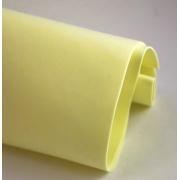 Фоамиран 1 мм 60х70 см Лимонный (Китай)