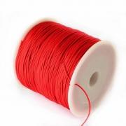 Шнур синтетический 0.5мм (2 метра) красный