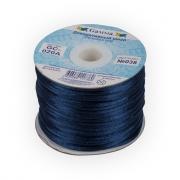 Шнур отделочный GC-020A 2мм т.синий 038 (2м)