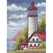 """Набор для вышивания """"Береговой маяк"""" ПС-1350 13х9см"""
