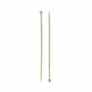 Спицы прямые BL2 бамбук 36 см 8.0 мм