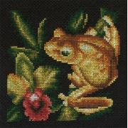 "Набор для вышивания ""Золотая лягушка"" Ж-0399 12.5х12.5 см"