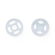 Кнопки пришивные PKL-07 7мм (10шт.) 01 белый