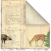 Бумага двусторонняя PSA 1307-6 30х30см (2 листа)