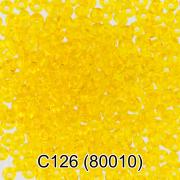 Бисер 10/0 C126 5г желтый